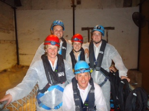 Mum, Dad, Andy, Chris and myself