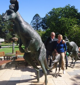Mum and Dad in Perth City