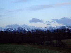 Goodbye beautiful Aviemore!