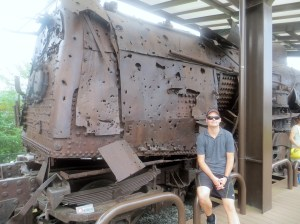 Locomotive found in DMZ