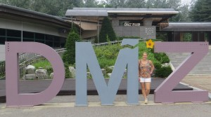 The D.M.Z, South Korea