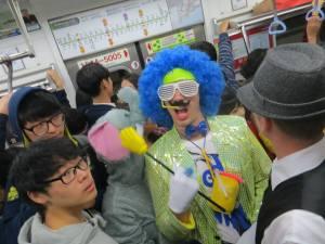 Wagooks on the subway
