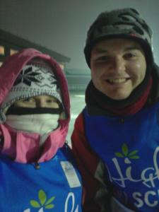 Night Skiing! Wow it was cold!