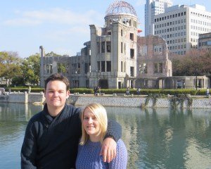 Andy and I at the A-bomb dome
