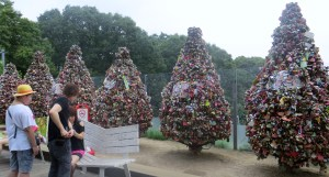 Tree's made completely from locks