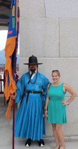 Gyeongbokgung and the guard