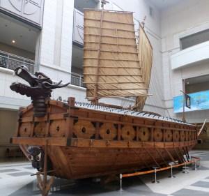 Admiral Sun-shin's turtle boat