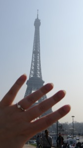 Eiffel Tower with ring