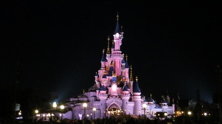 Disney Land by night