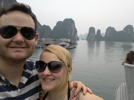 Ha Long Bay- On the boat