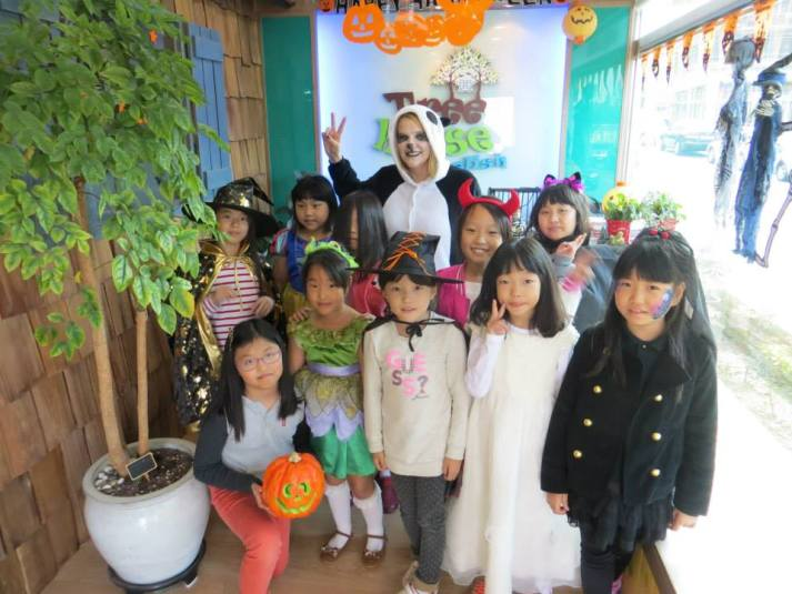 Haloween in Korea