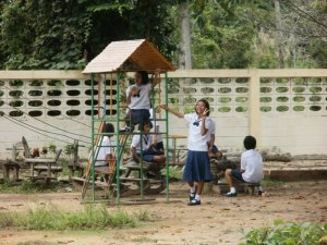 English camp, Koh Chang, Thailand