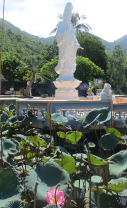 Pagoda on the island