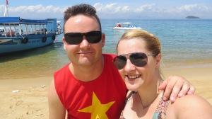 Jennie and I in Cham Island