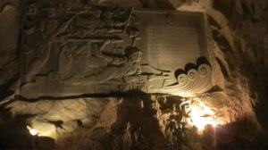 War memorial in the cave