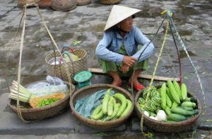 Street Vendor in Hoi An