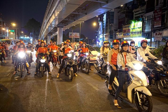 Motorbikes, Vietnam