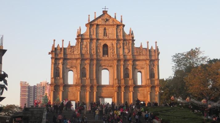 Ruins of St, Pauls