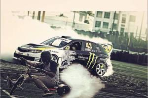drifting in car vs trike